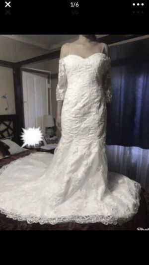 MERMAID WEDDING LACE DRESS for Sale in Alhambra, CA