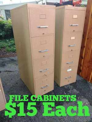 File Cabinets 15 each for Sale in Norfolk, VA