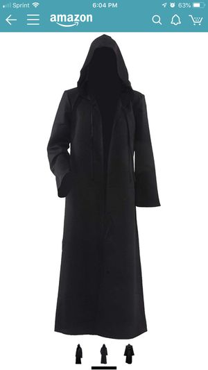 Men & Kids Tunic Hooded Robe Halloween Cosplay Costume Robe Cloak Cape for Sale in Dallas, TX