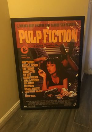 Pulp Fiction Poster for Sale in Sterling, VA