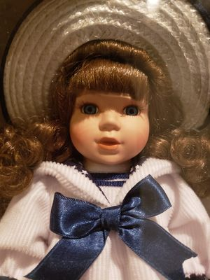 GENUINE PORCELAIN DOLL for Sale in Mesquite, TX