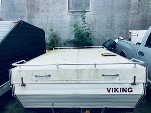 1984 Viking Popup Camper plus items inside for Sale in Plainville, MA
