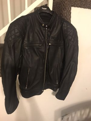 Ace Cafe Triumph leather motorcycle jacket. for Sale in Glendale, CA