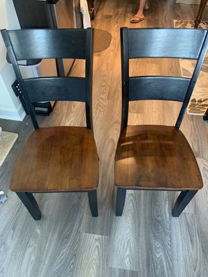 $25 TWO DINING ROOM CHAIRS for Sale in Washington, DC