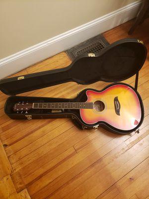 Acoustic electric guitar with self tuner for Sale in Ellsworth, ME