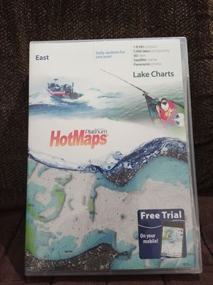 Fishing & boating mapping card for Sale in Allen Park, MI