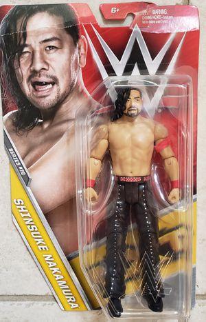 New WWE Shinsuke Nakamura Action Figure. for Sale in Longwood, FL