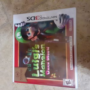 Nintendo 3DS Games (Luigis Mansion) ( Luigis Mansion DARK MOON) Sonic Generations for Sale in Burlington, NJ