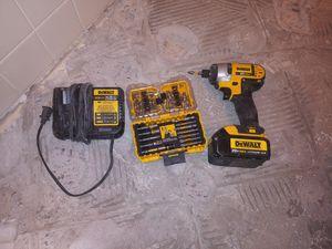 20v drwalt impact drill for Sale in Chandler, AZ