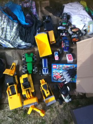 Huge lot of toys truck cars gently used collection for Sale in Takoma Park, MD