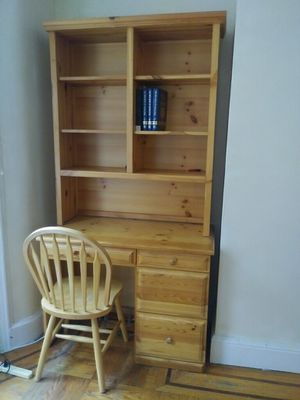 Gothic Craft Cabinet Desk Hutch Bookshelf For In Brooklyn