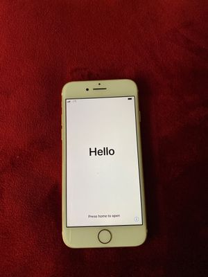 Gold iPhone 7 - Excellent Condition for Sale in Atlanta, GA