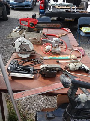 Vintage Electric Tools (sanders, drill, Skil saw, stapler) for Sale in Beaver Falls, PA