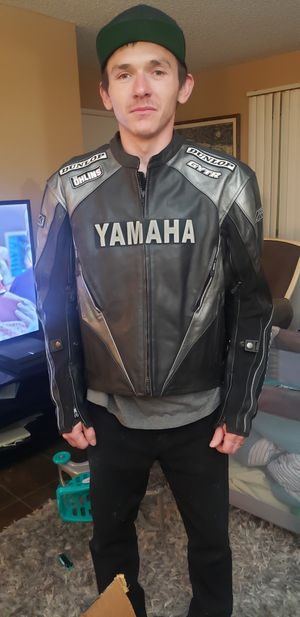 Yamaha R series racing motorcycle jacket for Sale in Vista, CA