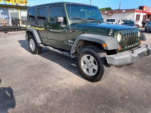 2007 Jeep Wrangler for Sale in Houston, TX