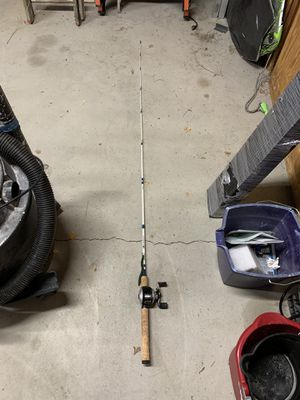 Abu Garcia Reel and Excursion 6.5 feet Fishing Pole, Baitcaster for Sale in Orondo, WA