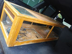 Reptile tank/coffee table for Sale in Crestline, CA