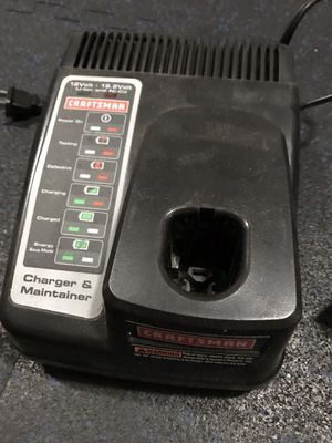 Craftsman C3 battery charger for Sale in Yelm, WA