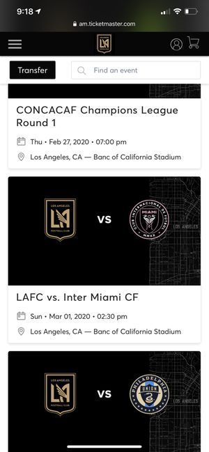 Lafc for Sale in Los Angeles, CA