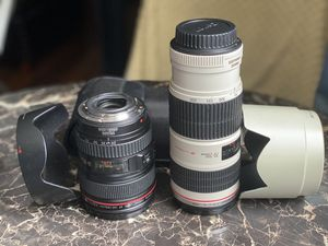 2 Canon L F4 Lens for Sale in Edison, NJ