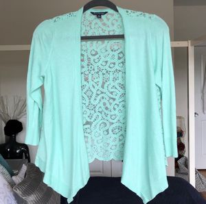 American Eagle Lace-Back Cardigan for Sale in City of Orange, NJ