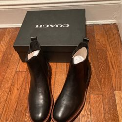 Brand New men's Coach Booties for Sale in Queens,  NY