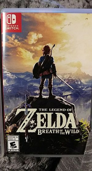 Zelda breath of the wild for Sale in Tualatin, OR