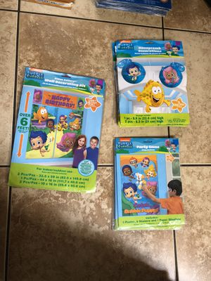 Bubble Guppies Birthday Party for Sale in Lodi, CA