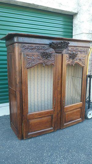 Antique armoire cabinet for Sale in Santa Monica, CA
