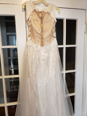 Galina Signature Ivory Color Wedding Dress for Sale in Chelsea, MA