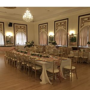 Wedding Linens, Chargers, Blush Draping Material for Sale in Tampa, FL