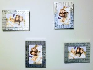 Photo frames 6 x 4 for sale at June's Onl oj nd Consignment Shop like us on Facebook. for Sale in Neenah, WI