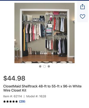 ClosetMaid shelves for Sale in Los Angeles, CA