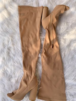 EGO Thigh High Peep Toe Boot. for Sale in Orlando, FL