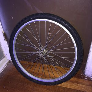 Mountain Bike Front Wheel 24in for Sale in Wilmington, DE