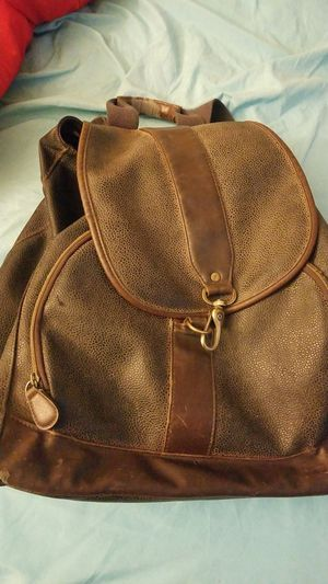 Leather Back Pack for Sale in Palo Alto, CA