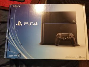 PS4 Launch Edition with 5 Games for Sale in Phoenix, AZ