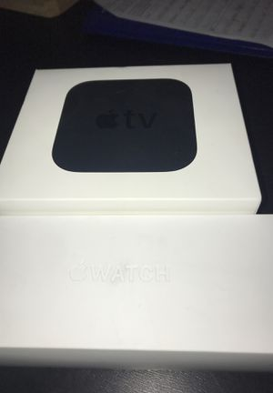 Apple Watch series 4 & Apple TV 4th generation for Sale in Minneapolis, MN