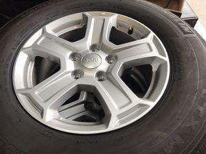 "2019 Jeep JL oem wheels tires 17"" for Sale in Orlando, FL"