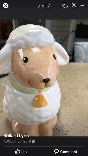 Lamb Cookie Jar for Sale in Leesburg, VA