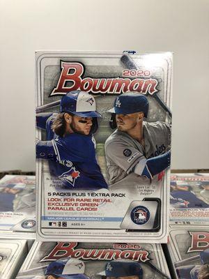 Topps 2020 Bowman MLB baseball cards blaster box sealed brand new for Sale in Burbank, CA