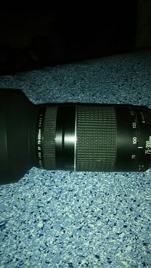 Canon zoom lens ex 75-300mm for Sale in Glendale, AZ