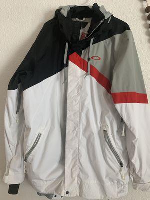 Xxl OKLEY ASCERTAIN snowboarding jacket for Sale in Denver, CO
