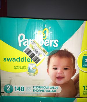Pampers swaddlers size #2!! for Sale in Jonesboro, GA