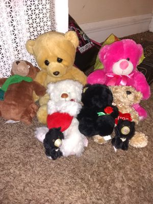 Bear stuffed animals for Sale in Woodbury Heights, NJ