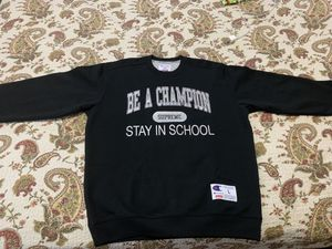 Supreme Champion Collaboration Stay School Size Large Brand New for Sale in Queens, NY