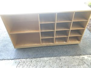 Large cubby/shelving table — great for legos or teachers! for Sale in Mokena, IL