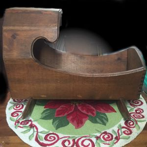 Antique baby cradle - dove tail joints for Sale in Moon, PA