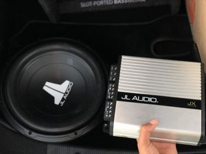 Jl audio amp speakers for Sale in Dallas, TX