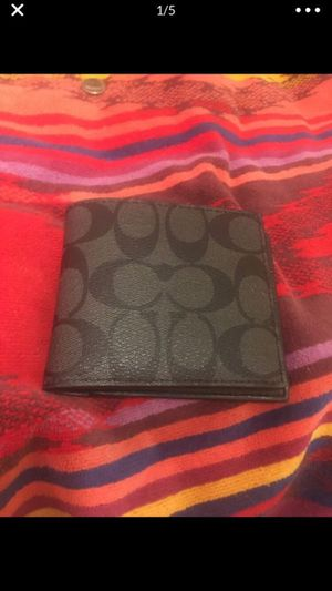 Men's authentic coach wallet (brand new) for Sale in Laguna Hills, CA